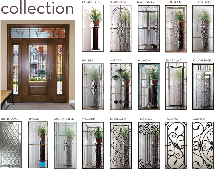 Decorative Glass  sc 1 st  Big City Windows & Decorative Glass Entry Doors Ottawa - Decorative Glass Exterior Door ...